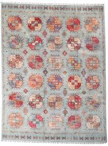 Shabargan 絨毯 249X325 モダン 手織り 薄い灰色/濃いグレー (ウール, アフガニスタン)