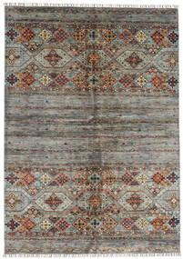 Shabargan 絨毯 175X252 モダン 手織り 茶/濃い茶色 (ウール, アフガニスタン)