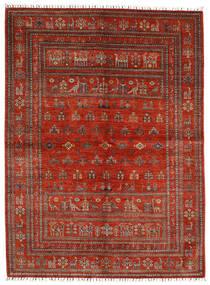 Shabargan 絨毯 176X239 モダン 手織り 錆色/濃い茶色 (ウール, アフガニスタン)