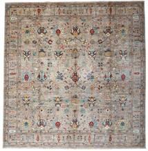 Mirage 絨毯 303X315 モダン 手織り 正方形 薄い灰色 大きな (ウール, アフガニスタン)