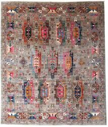 Mirage 絨毯 251X301 モダン 手織り 薄い灰色/茶 大きな (ウール, アフガニスタン)