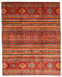 Shabargan 絨毯 249X310 モダン 手織り 深紅色の/錆色 (ウール, アフガニスタン)