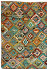 Moroccan Berber - Afghanistan 絨毯 170X250 モダン 手織り 茶/薄茶色 (ウール, アフガニスタン)