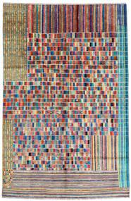 Moroccan Berber - Afghanistan 絨毯 181X259 モダン 手織り 暗めのベージュ色の/薄い灰色 (ウール, アフガニスタン)