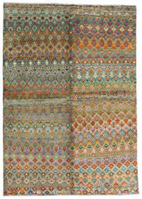 Moroccan Berber - Afghanistan 絨毯 171X243 モダン 手織り 茶/濃いグレー (ウール, アフガニスタン)
