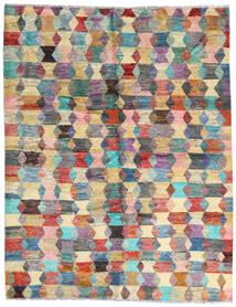 Moroccan Berber - Afghanistan 絨毯 186X236 モダン 手織り 濃い茶色/薄い灰色 (ウール, アフガニスタン)