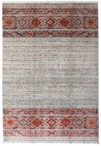Shabargan 絨毯 209X301 モダン 手織り 薄い灰色/ベージュ (ウール, アフガニスタン)