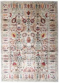 Mirage 絨毯 214X304 モダン 手織り 薄い灰色/薄茶色 (ウール, アフガニスタン)