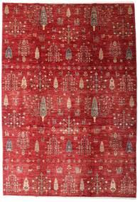 Mirage 絨毯 213X306 モダン 手織り 深紅色の/赤 (ウール, アフガニスタン)