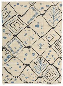 キリム モダン 絨毯 175X237 モダン 手織り 暗めのベージュ色の/ベージュ (ウール, アフガニスタン)