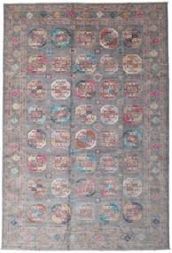 Mirage 絨毯 247X365 モダン 手織り 濃い茶色/薄い灰色 (ウール, アフガニスタン)