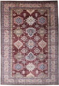 モダン アフガン 絨毯 247X358 モダン 手織り 薄紫色/濃い茶色 (ウール, アフガニスタン)