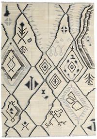 キリム Ariana 絨毯 173X242 モダン 手織り 暗めのベージュ色の/ベージュ/薄い灰色 (ウール, アフガニスタン)
