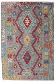 キリム アフガン オールド スタイル 絨毯 100X148 オリエンタル 手織り 薄い灰色/濃いグレー (ウール, アフガニスタン)