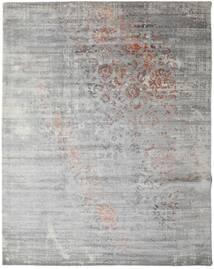 Damask Collection 絨毯 243X307 モダン 手織り 薄い灰色 ( インド)