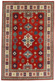 カザック 絨毯 198X302 オリエンタル 手織り 深紅色の/錆色 (ウール, アフガニスタン)