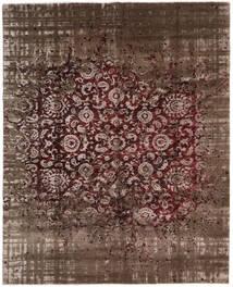 Damask Collection 絨毯 239X302 モダン 手織り 濃い茶色/茶 ( インド)