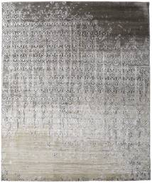 Damask Collection 絨毯 248X303 モダン 手織り 薄い灰色/濃いグレー ( インド)