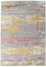 Damask Collection 絨毯 159X230 モダン 手織り 薄い灰色/薄茶色 ( インド)