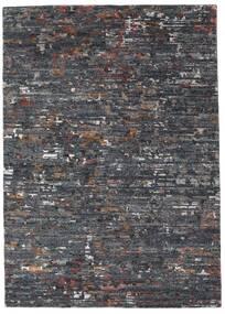 Damask Collection 絨毯 162X229 モダン 手織り 濃いグレー/薄い灰色 ( インド)