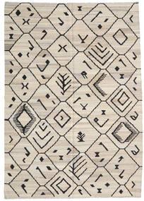 キリム Ariana 絨毯 206X292 モダン 手織り 薄い灰色/濃いグレー (ウール, アフガニスタン)