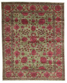 Mirage 絨毯 196X247 モダン 手織り 深紅色の/薄い灰色 (ウール, アフガニスタン)