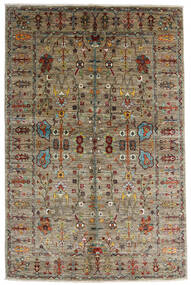 Mirage 絨毯 146X230 モダン 手織り 薄い灰色/薄茶色 (ウール, アフガニスタン)