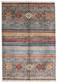 Shabargan 絨毯 172X248 モダン 手織り 薄い灰色/濃いグレー (ウール, アフガニスタン)