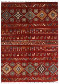 Shabargan 絨毯 172X237 モダン 手織り 赤/深紅色の/錆色 (ウール, アフガニスタン)