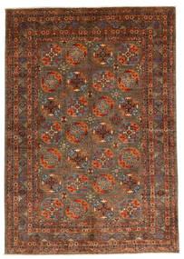 Mirage 絨毯 166X236 モダン 手織り 深紅色の/茶 (ウール, アフガニスタン)