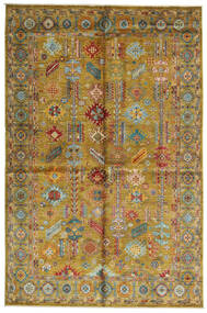 Mirage 絨毯 170X258 モダン 手織り 茶/オリーブ色 (ウール, アフガニスタン)