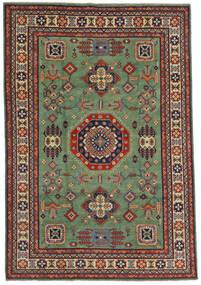 カザック 絨毯 197X289 オリエンタル 手織り オリーブ色/黒 (ウール, アフガニスタン)