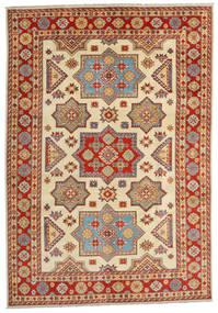 カザック 絨毯 201X288 オリエンタル 手織り 錆色/黄色 (ウール, アフガニスタン)