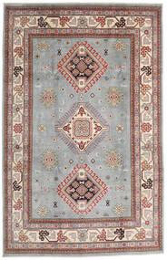 カザック 絨毯 195X304 オリエンタル 手織り 薄い灰色/薄茶色 (ウール, アフガニスタン)