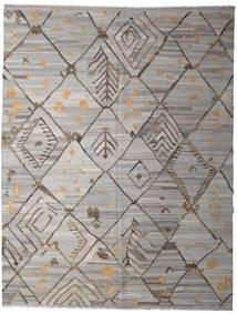 キリム Ariana 絨毯 258X332 モダン 手織り 薄い灰色/濃いグレー 大きな (ウール, アフガニスタン)