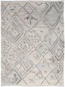 キリム Ariana 絨毯 254X345 モダン 手織り 薄い灰色 大きな (ウール, アフガニスタン)