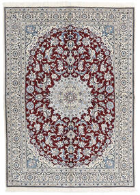 ナイン 9La 絨毯 173X240 オリエンタル 手織り (ウール/絹, ペルシャ/イラン)