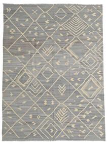 キリム Ariana 絨毯 252X335 モダン 手織り 薄い灰色/濃いグレー 大きな (ウール, アフガニスタン)
