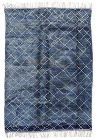 Berber Moroccan - Mid Atlas 絨毯 217X310 モダン 手織り 青/紺色の (ウール, モロッコ)