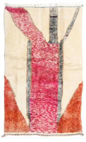 Berber Moroccan - Mid Atlas 絨毯 150X242 モダン 手織り ベージュ/錆色 (ウール, モロッコ)