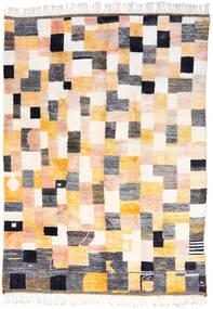 Berber Moroccan - Mid Atlas 絨毯 253X348 モダン 手織り ベージュ/ホワイト/クリーム色 大きな (ウール, モロッコ)