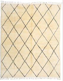 Berber Moroccan - Beni Ourain 絨毯 280X345 モダン 手織り ベージュ/暗めのベージュ色の 大きな (ウール, モロッコ)