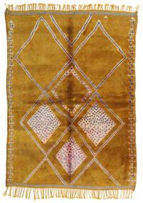 Berber Moroccan - Mid Atlas 絨毯 190X265 モダン 手織り 薄茶色/茶 (ウール, モロッコ)