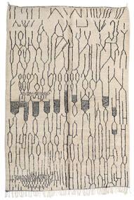 Berber Moroccan - Mid Atlas 絨毯 207X308 モダン 手織り ベージュ/薄い灰色 (ウール, モロッコ)