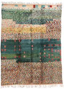 Berber Moroccan - Mid Atlas 絨毯 250X330 モダン 手織り 深緑色の/濃いグレー 大きな (ウール, モロッコ)