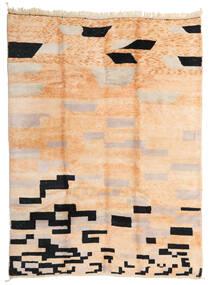 Berber Moroccan - Mid Atlas 絨毯 252X337 モダン 手織り ライトピンク/濃い茶色 大きな (ウール, モロッコ)