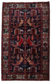 ハマダン 絨毯 131X213 オリエンタル 手織り 深紅色の (ウール, ペルシャ/イラン)