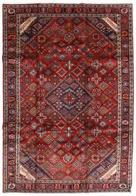 マシュハド 絨毯 207X300 オリエンタル 手織り 深紅色の/濃いグレー (ウール, ペルシャ/イラン)