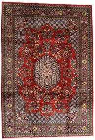 ゴルパイガン 絨毯 215X307 オリエンタル 手織り 深紅色の/黒 (ウール, ペルシャ/イラン)