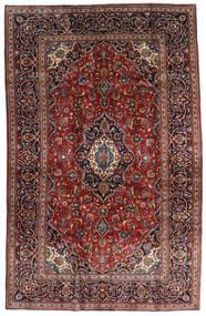 カシャン 絨毯 205X320 オリエンタル 手織り 深紅色の/濃い茶色 (ウール, ペルシャ/イラン)
